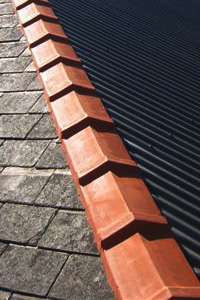Slate Roof Replacement Job