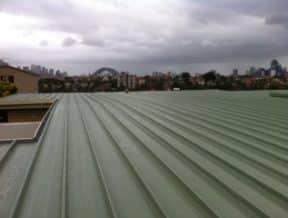 mosman green colorbond metal roof 1