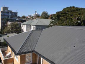 queenscliff road colorbond roof 2