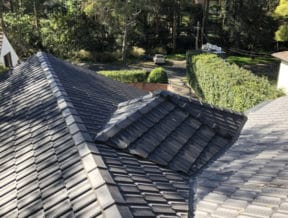 west pymble colorbond tile roof 2